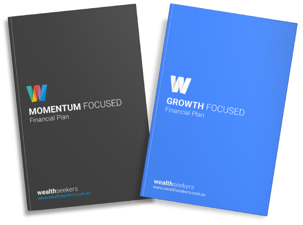 growth focused and momentum focused financial plans