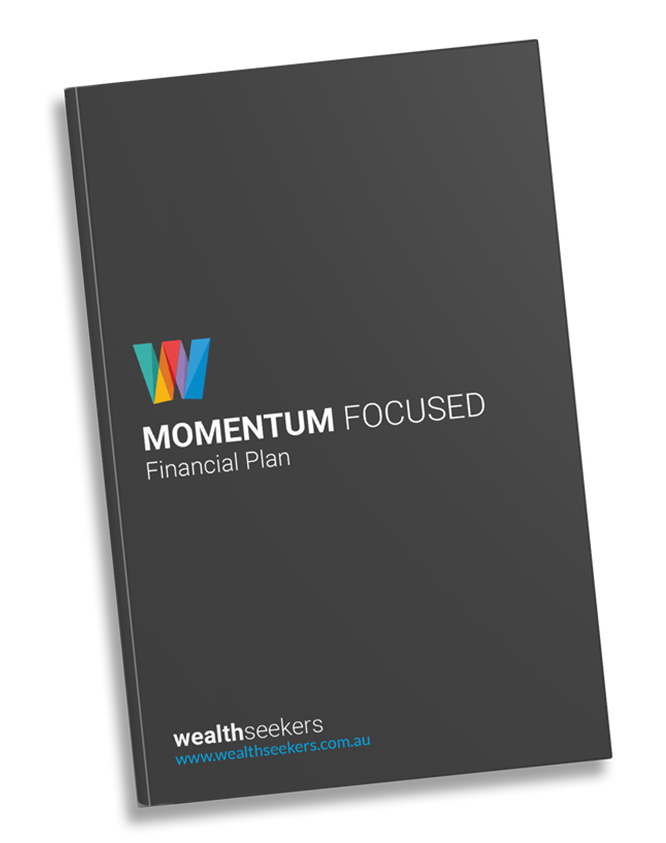 Momentum focused financial plan