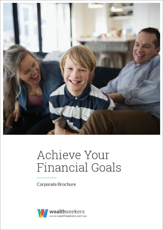 grow your wealth and achieve your financial goals corporate brochure